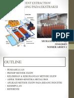 Metode Solvent Extraction Electowinning Cu