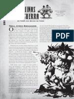 Reinos de Ferro D20 - Máquinas de Guerra - Troll Atroz Esmagador - Biblioteca Élfica