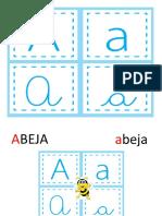Abecedario - Imprenta y Manuscrita