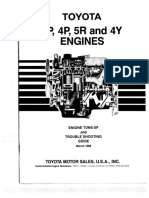 Toyota 3p 4p 5r Tune Up Troubleshooting