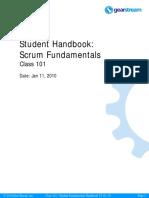 Scrum Fundamentals Student Handbook