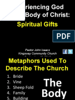 09-12-2010 Experiencing God in the Church-Spiritual Gifts