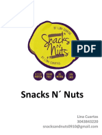 Snacks N´ Nuts Portafolio