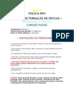 [EPFO] Cartão Resposta Mód. III - Polícia DPH [2018]
