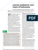 The Nascent Palliative Care Landscape of Indonesia