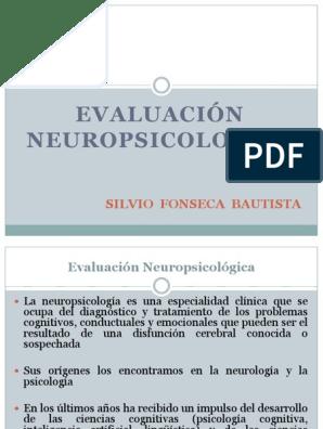resultados de pruebas neuropsicológicas diagnóstico de diabetes
