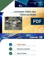 1. Perencanaan Teknis Dan Sistem Produksi