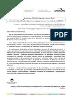 CETIIS - Documento Marco