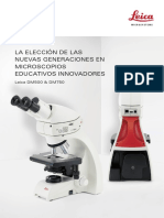 Leica DM500 DM750 Brochure ES