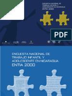 2003 Encuesta Trabajo Infantil ENTIA Nic