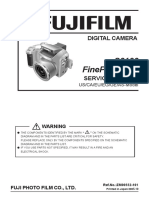 Fujifilm Finepix S3100-S3500 Service Manual