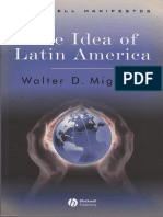 Mignolo. the Idea of Latina America