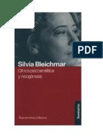Bleichmar - Cl Psic Neogenesis
