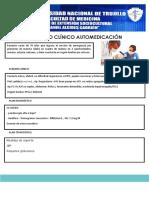 CASO CLINICO Automedicacion