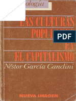 Canclini- Culturas Populres Modificado