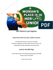 Women's Get Together Poster