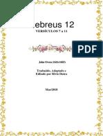 Hebreus 12 - Versiculo 7 a 11