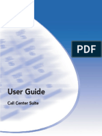 Call Center Suite User Guide
