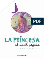 La princesa al móvil pegada, de Valeria Kiselova Savrasova y Alicia Ríos Cívico
