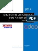 Instructivo Odoo Arkham V1
