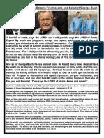 The Punishment of the Satanic Freemasons and Satanist George Bush.docx