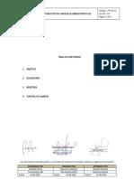 Instructivo de Limpieza de Baños Portátiles (V01)