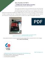 Battery Desulfator DA PIMP 2