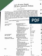 Liszt's B Minor Sonata. Precedents for a Structural Analysis. RM Longyear