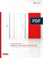 The Complete Guide to Hiring a MA Advisor