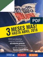 Precios Corajudos 2018 Bs.as