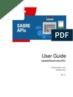 UpdateReservationRQ 1 15 0 User Guide