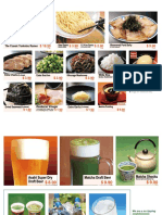 Ichiran Midtown menu