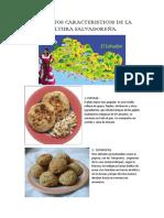 Elementos Caracteristicos de La Cultura Salvadoreña