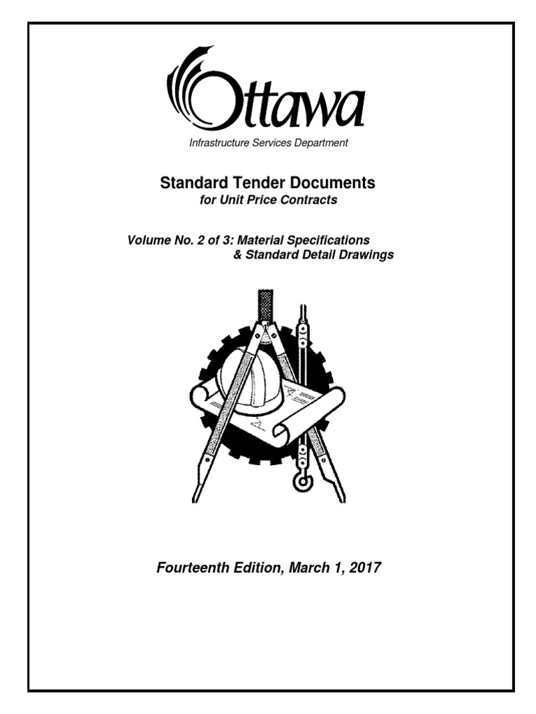 2017standard tender documents for unit price contracts vol2 pipe  2017standard tender documents for unit price contracts vol2 pipe fluid conveyance specification technical standard