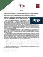 Reseña Del Texto Historia e Historiografía de La Educación en México