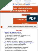 1. La Pédagogie Par Objectifs 2017