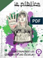 A Clase Pública. Deconstruyendo Los Géneros en Las Escuelas. (1)