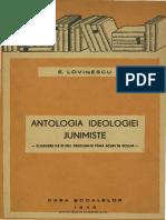 Antologia ideologiei junimiste  Culegere de studii neadunate până acum în volum  T. Maiorescu, V. Pogor, Th. Rosetti, A. D. Xenopol, G. Panu, A. Lambrior,.pdf