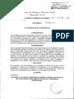 Acdo Gub 51-2015 Reforma Reglamento Salud y Seguridad.pdf