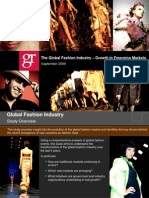 Global Fashion Industry Growth in Emerging Markets