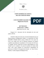 Sentencia Coronel Luis Alfonso Plazas Vega