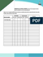 Ficha de Diagnóstico de Necesidades Del Aula Para El Docente