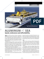 Aluminum at Sea