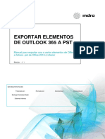 Exportar Buzón Office 365 a PST