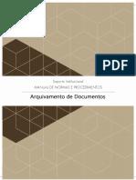 Manual de Arquivamento de Documentos do MPF