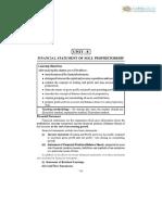 11 Accountancy Notes Ch08 Financial Statements of Sole Proprietorship 01