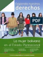 La Mujer Boliviana en El Estado Plurinacional de Bolivia
