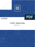 Fortios v5.4.8 Release Notes