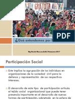 Participación y niveles