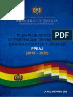 Plan Plurinacional de Prevención de Embarazos en Adolescentes y Jóvenes